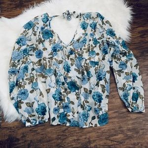 Mossimo Supply Co. Tops - Mossimo Blouse Size Large